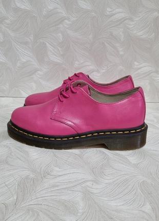 Кожаные туфли dr. martens, р. 37, оригинал