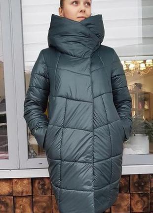 10 цветов.от42 до54р.супер теплая и уютная куртка зефирка пальто-одеяло.
