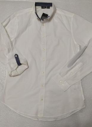 Лёгкая немецкая хлопковая рубашка livergy