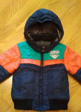 Куртка детская 6-1,5 лет демисезонная mexx