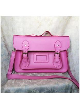 Хит лета 2021! продам розовую сумку! сумка-портфель в модном цвете!