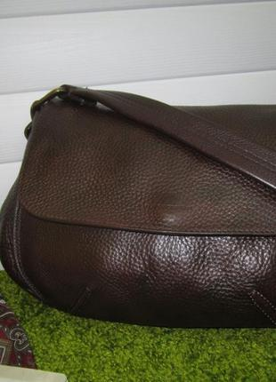 Кожаная сумка (зернистая кожа).испания gianni chiarini borse in pelle