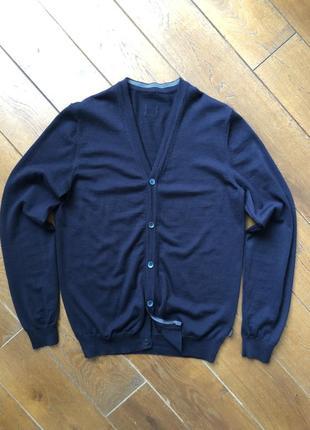 Шерстяной свитер воss