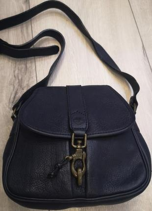 Timberland кожаная сумка