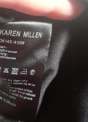 Шикарное платье karen millen оригинал!7 фото