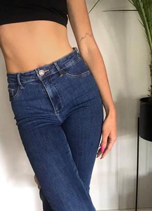 Базовые скини джинсы от zara