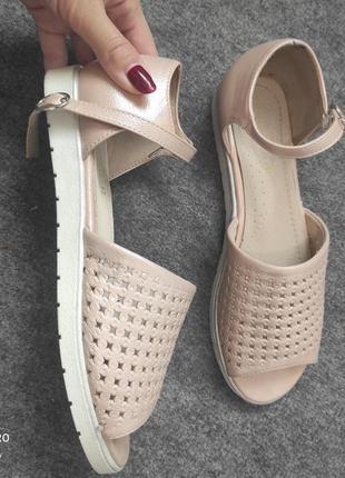 Сандали сандалі босоніжки босоножки лето літо 36, 37 стелька 24 см