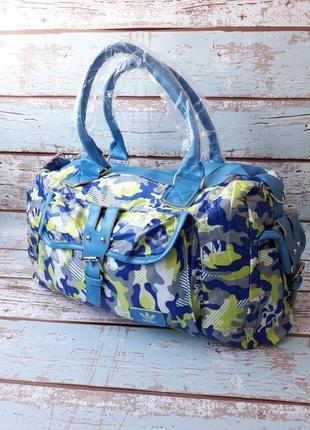 Спортивная, дорожная сумка, стильная женская сумка