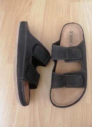 Мужские сандалии кожа 44-45р  birkenstock
