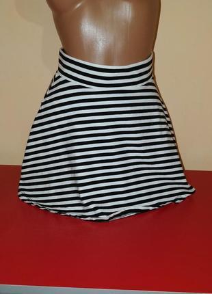 Распродажа !!! женская трикотажная коттоновая юбка бренд h&m