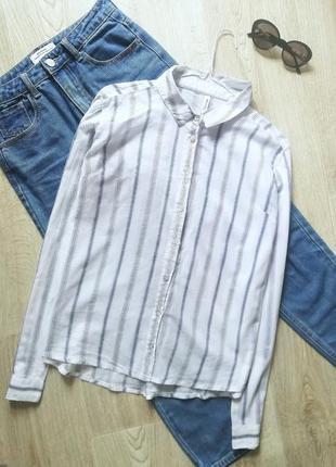 Шикарная натуральная рубашка свободного кроя, блуза свободного кроя, рубашка оверсайз, сорочка бойфренд