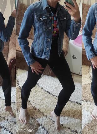 Модная джинсовка, джинсовая куртка, фирменный джинсовый пиджак gap - xs-s