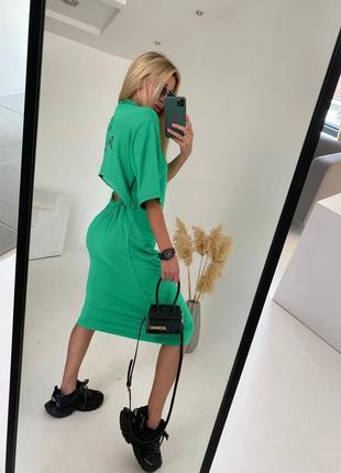 Платье с открытой спиной 4 цвета 🚀