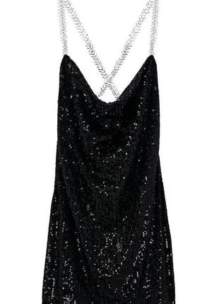 Платье чёрное zara🖤