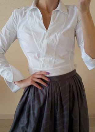 Блуза белая karen millen2 фото