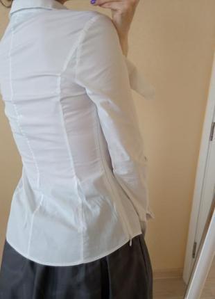 Блуза белая karen millen3 фото