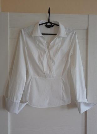 Блуза белая karen millen7 фото