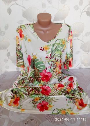 Платье летние трикотажное