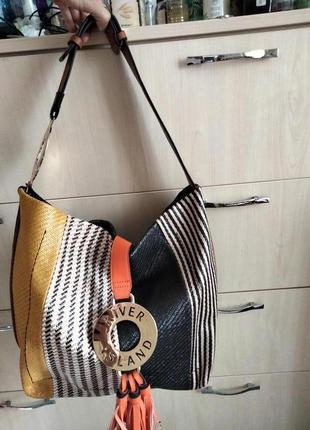 Яркая сумка шоппер