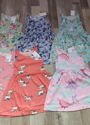 Бавовняні сукні  h&m