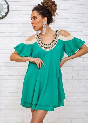 Туника, цвет зелёный