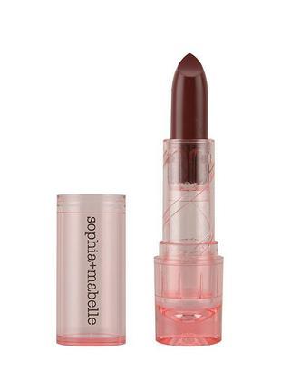 Увлажняющяя помада-бальзам sophia + mabelle hydrating hybrid lipstick balm