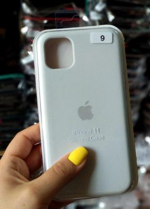 Белый силиконовый чехол для iphone 6+/6s+/7/8 7+/8+/x/xs/xr/11/12/12pro/12 mini