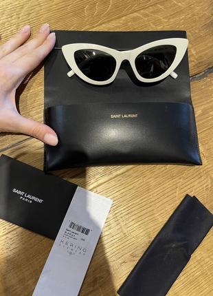 Солнцезащитные очки saint laurent оригинал