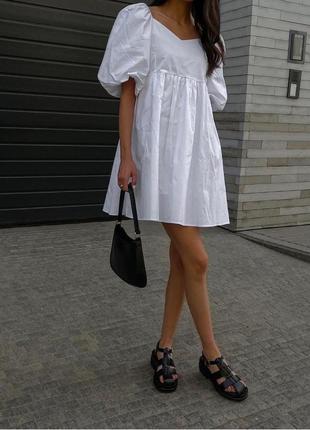 Летнее лёгкое платье оверсайз