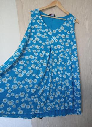 Красива та стильна блуза без рукавів(батал)