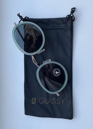 Успей купить по скидке! солнцезащитные очки glassy 18 kenny pol mint