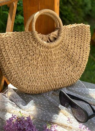 🔥🔥инста сумки плетёные