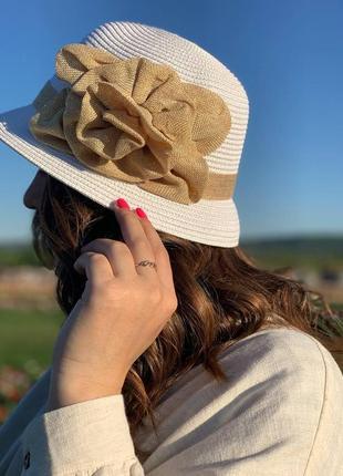 ❤солнцезащитные шляпки из рафии расцветки