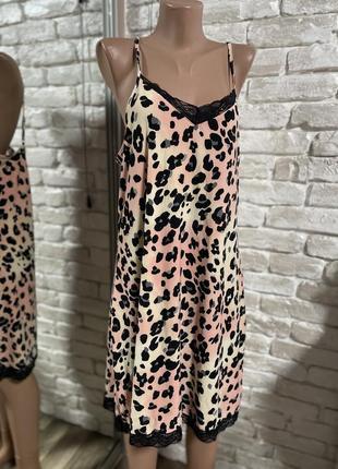 Ночная сорочка леопард