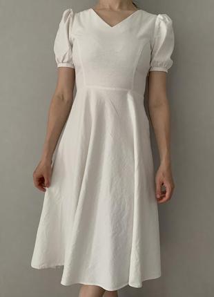 Стильна льняна сукня, zara, s, 34-36
