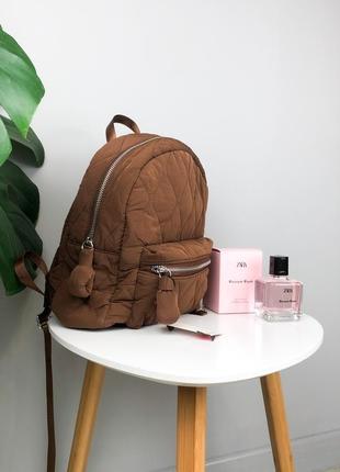 Стёганный рюкзак stradivarius