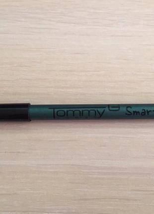 Олівець для очей, зелёный карандаш для глаз tommy g, новый карандаш для глаз.