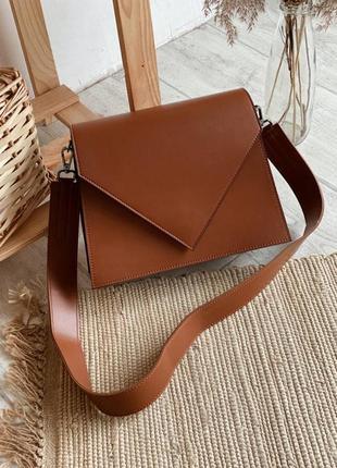 Рыжая  через плечо женская сумка женская сумка кроссбоди клатчи женские рыжие