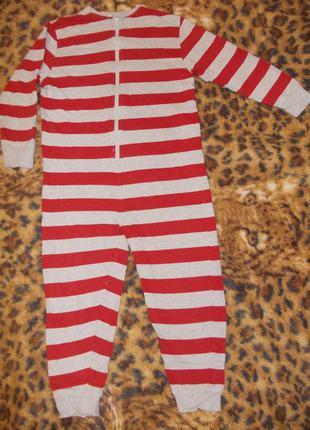 Пижама кигуруми слип человечек ромпер на 10-11 лет рост 140-146 см