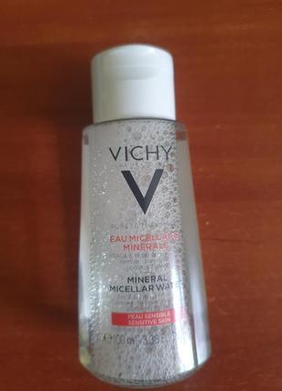 Мицеллярная вода purete thermale vichy, 100мл.