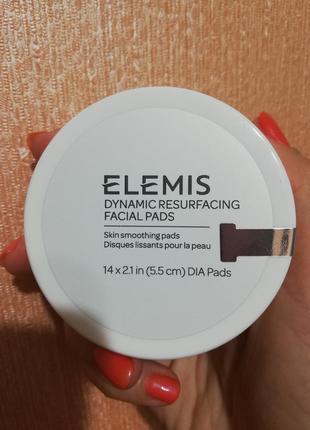 Пады для шлифовки лица оригинал elemis dynamic resurfacing facial pads