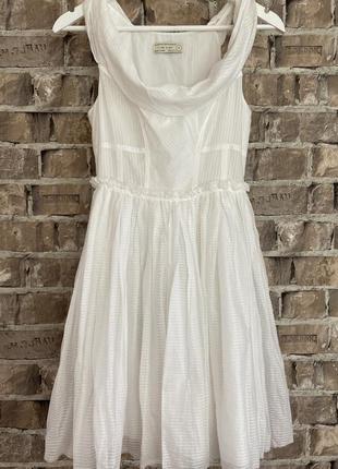 Білосніжне, неймовірної краси плаття дорогого бренда allsaints 🔥,хс-с💕