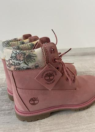Можные ботинки timberland