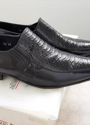 Стильные кожаные туфли от mario bruni/