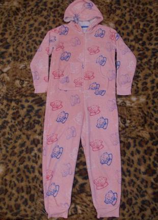 Пижама кигуруми слип человечек на 11-12 лет рост 146-152 см