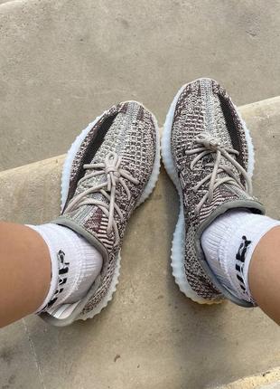 Yeezy boost 350 v2 zyon кроссовки текстильные дышащие uniseks