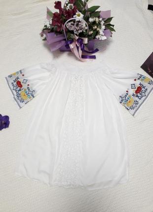 Нереальная красивенная вишиванка,туника, мини платье