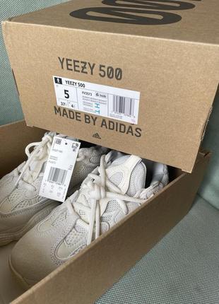 Новые кроссовки yeezy 500!! ( не подошёл размер)3 фото