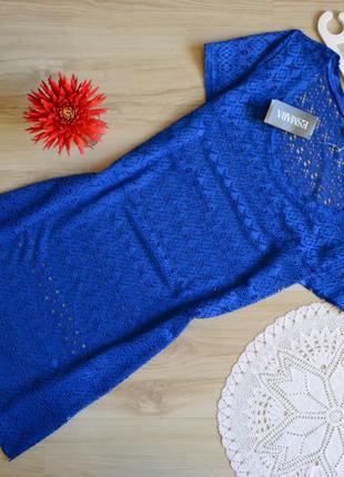 Плаття круживо волошкового кольору esmara