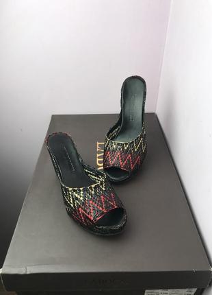Распродажа легкие кожаные сабо шлепанцы босоножки туфли